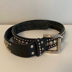 COPY - Studded Leather Belt